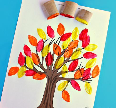 Як намалювати малюнок про осінь