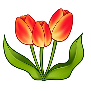 Як намалювати перші весняні квіти