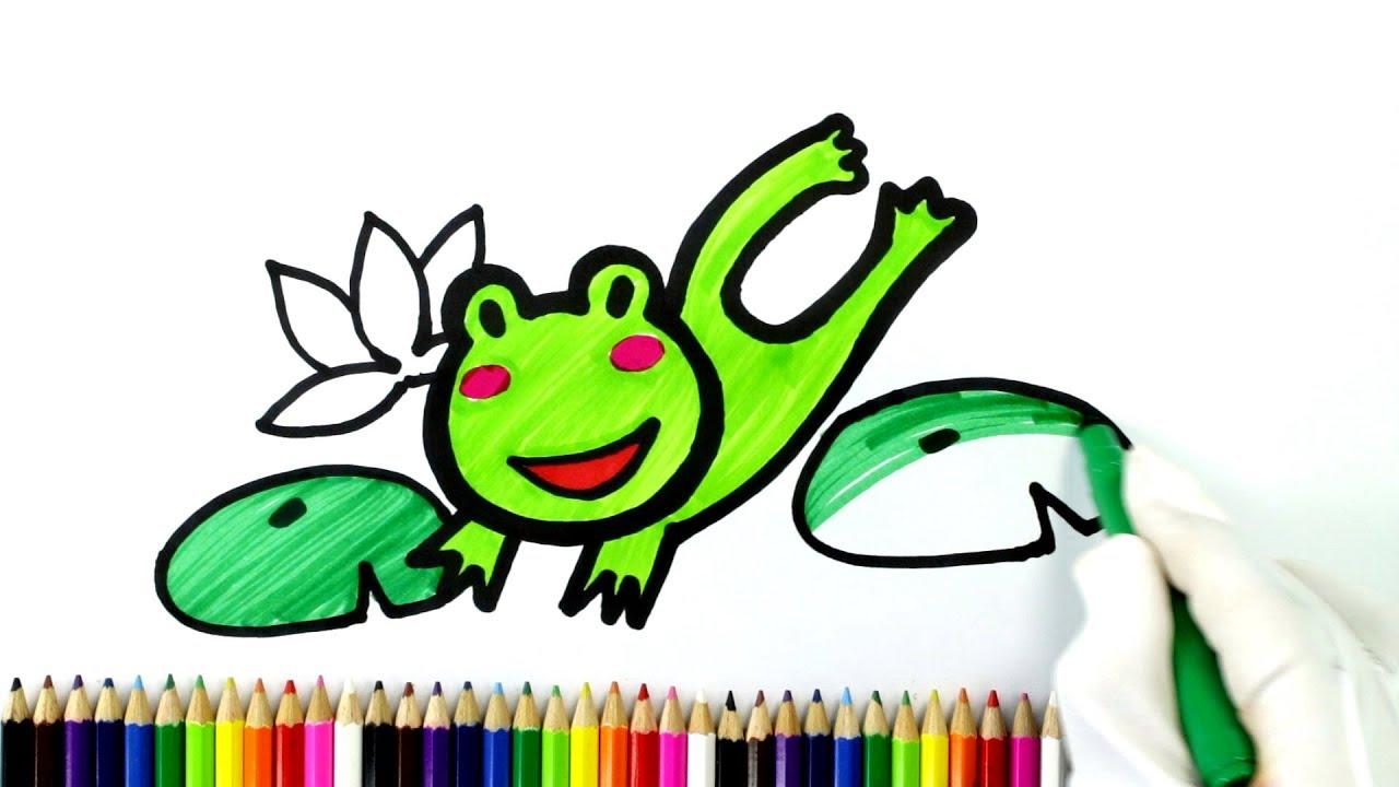 Як намалювати жабу