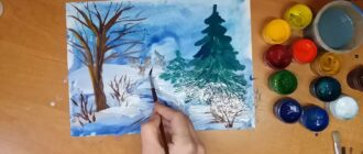 Як намалювати природу