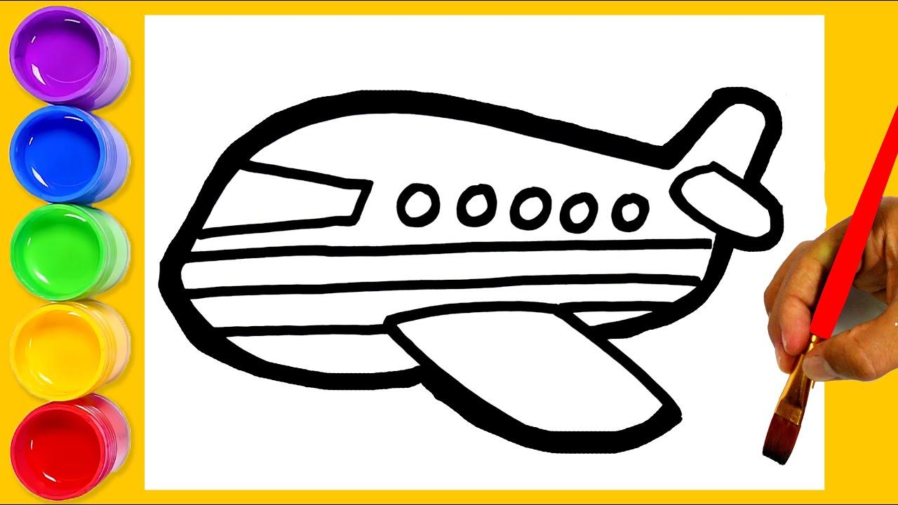 Як намалювати літак