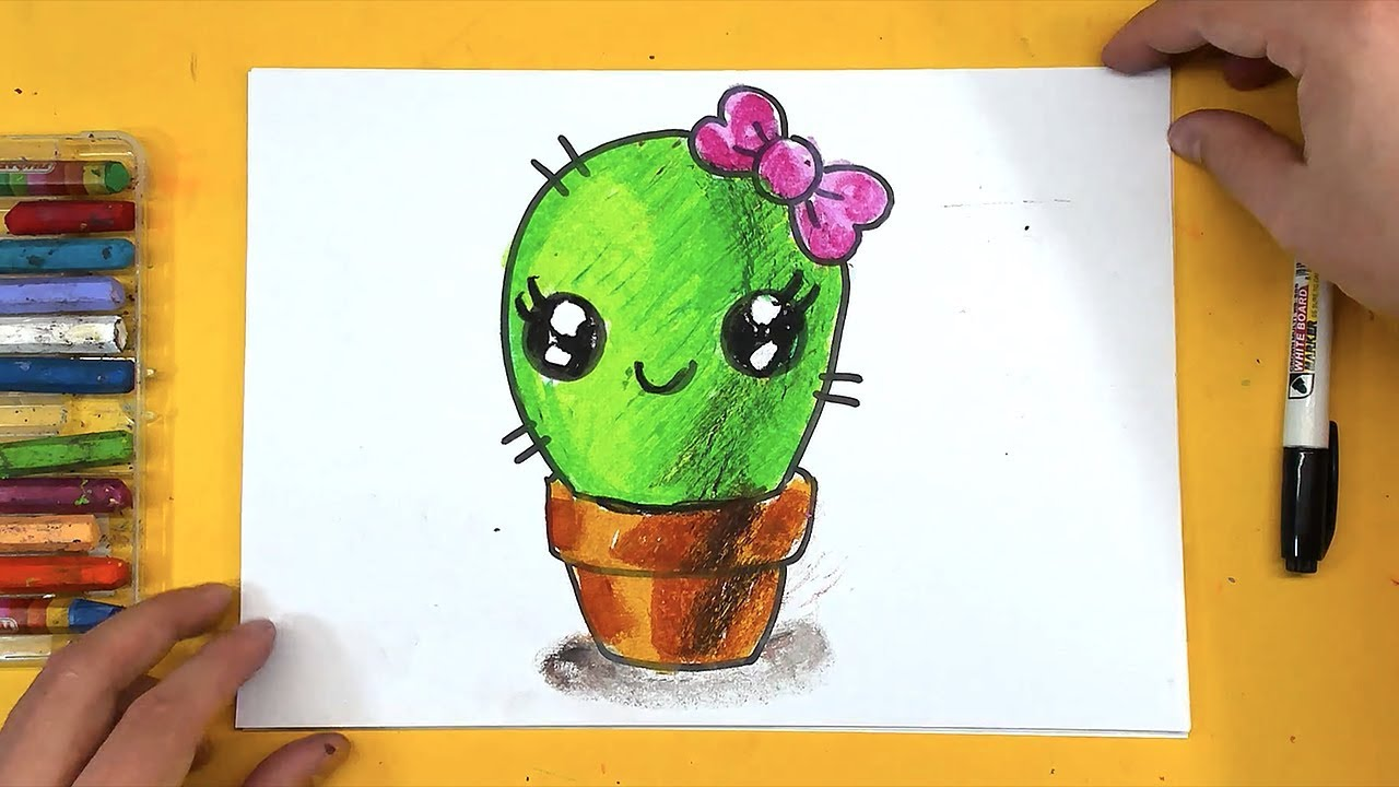 Як намалювати кактус